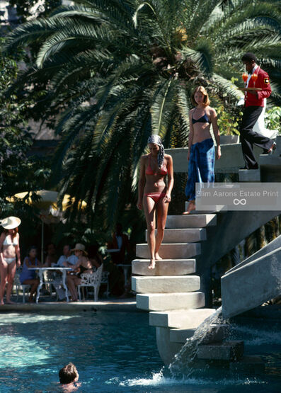 Slim Aarons, 'Habitation Leclerc (Slim Aarons Estate Edition)', 1975