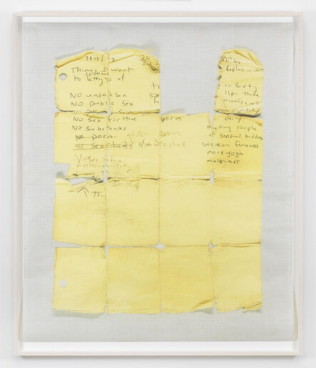 Lyle Ashton Harris, 'Yellow Grid', 2014