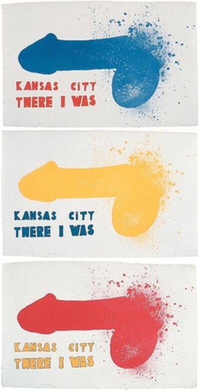 Jim Dine, 'Kansas City (3 sheets)', 1970