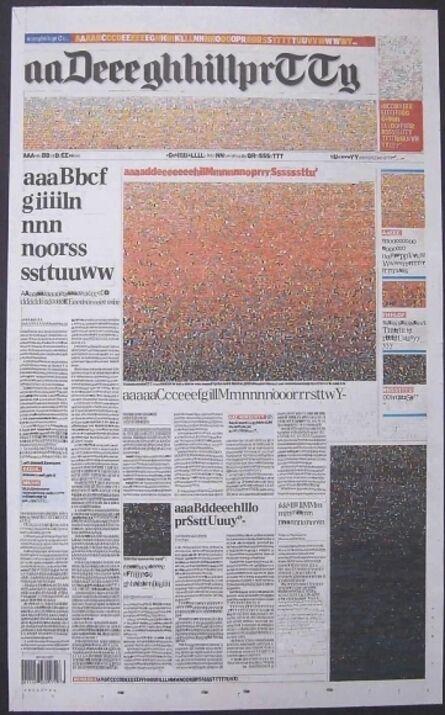 Kim Rugg, 'What The Duke Did Next (The Daily Telegraph)', 2007