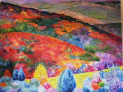 William Kelley, 'Autunno, Panzano Valley', 2016