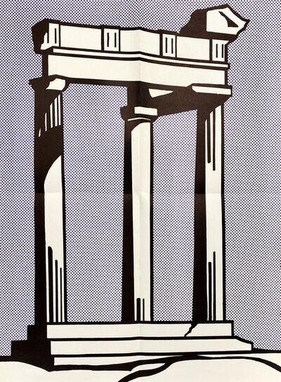 Roy Lichtenstein, 'Roy Lichtenstein Temple (Castelli mailer) 1964', 1964