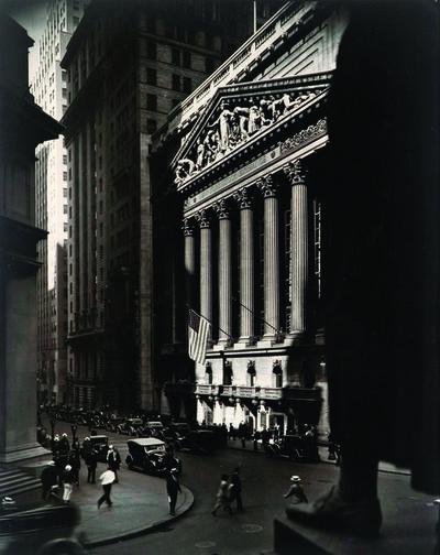 Berenice Abbott, 'Wall Street and Stock Exchange', 1933