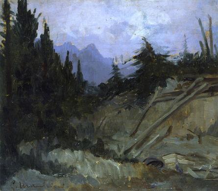 Giovanni Marchini, 'Alto cadore', 1917