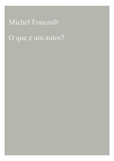 Sara & André, 'O que é um Autor?', 2014