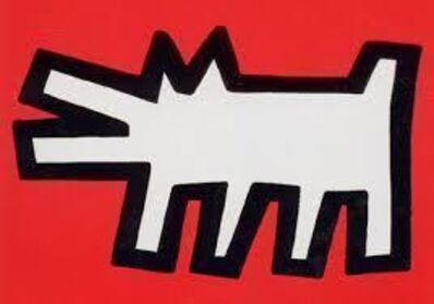 Keith Haring, 'Icons-Barking Dog', 1990