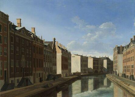 Gerrit Adriaensz. Berckheyde, 'The 'Golden Bend' in the Herengracht, Amsterdam', 1671 -1672