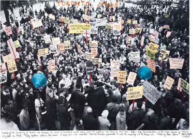 """Marcelo Brodsky, 'From the series """"1968, The fire of the ideas"""", Toronto, 1968'"""