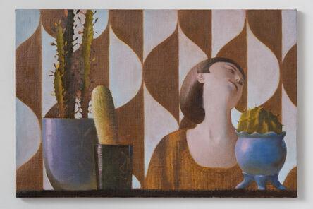 Benjamin Senior, 'Holly and Cacti', 2014