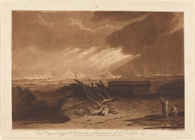 J. M. W. Turner, 'The Fifth Plague of Egypt', published 1808