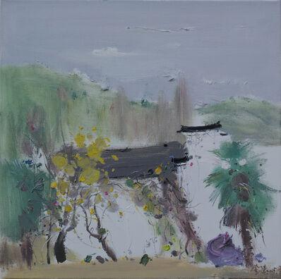 Jin Jie 金捷, ' A Lakeside Garden 湖园争印', 2015