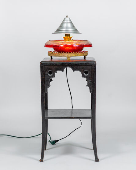 Joseph Holtzman, 'Red Glass Lamp-and-Stand', 2021