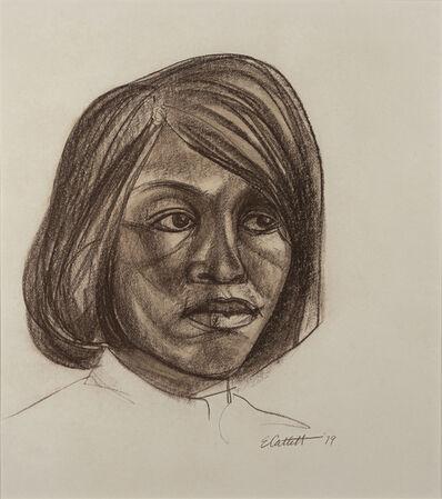 Elizabeth Catlett, 'Head of a Woman', 1979