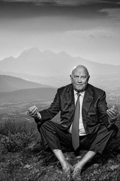 Adrian Steirn, 'FW de Klerk: A Man Alone', 2013