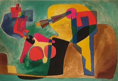 Rolph Scarlett, 'Untitled Surrealist Abstraction', 1944