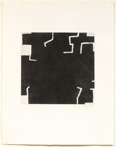Eduardo Chillida, 'Zeihartu I', 1973