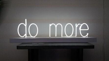 Lisa Schulte, 'Do More', 2015