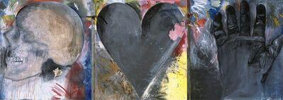 Jim Dine, 'Untitled (Skull, Heart, Glove)', 1985