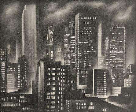 Howard Cook, 'New York Night', 1931