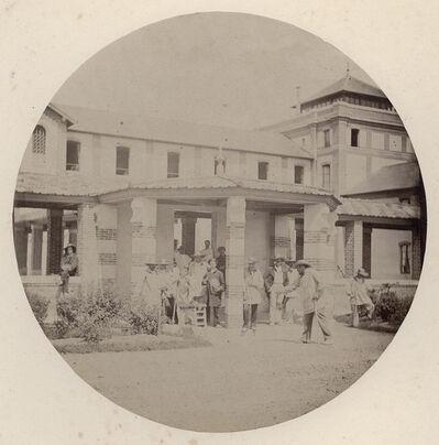 Charles Nègre, 'Outside Vincennes Imperial Asylum', 1859/1859