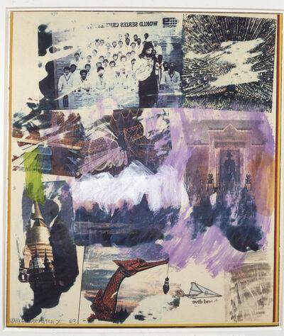 Robert Rauschenberg, 'Thai X', 1983
