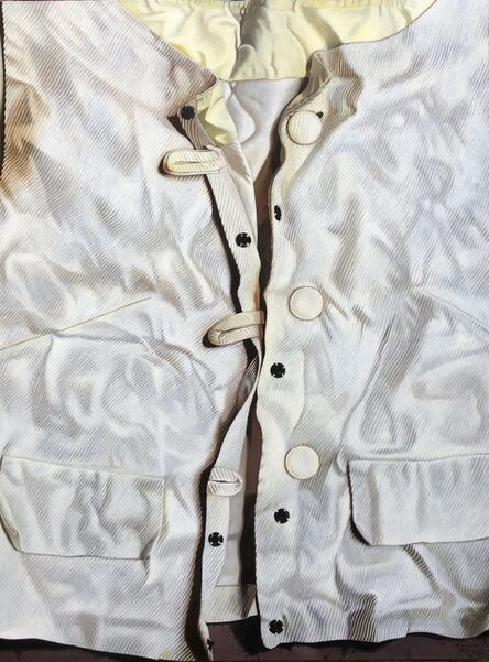 Marina Cruz, 'White Lines on White with Stains and Shadows', 2018