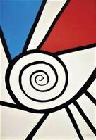 Alexander Calder, 'Spirale rouge et bleue', 1969