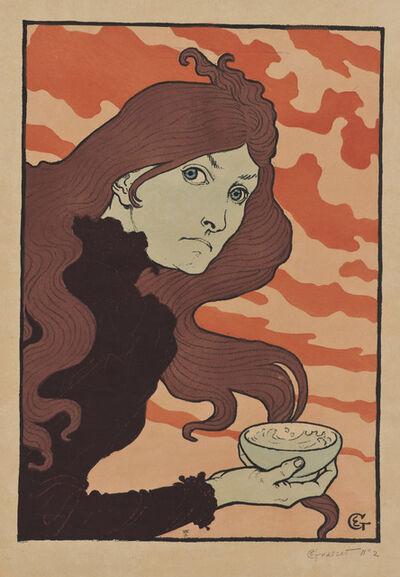 Eugène Samuel Grasset, 'La vitrioleuse [The Acid Thrower]', 1894