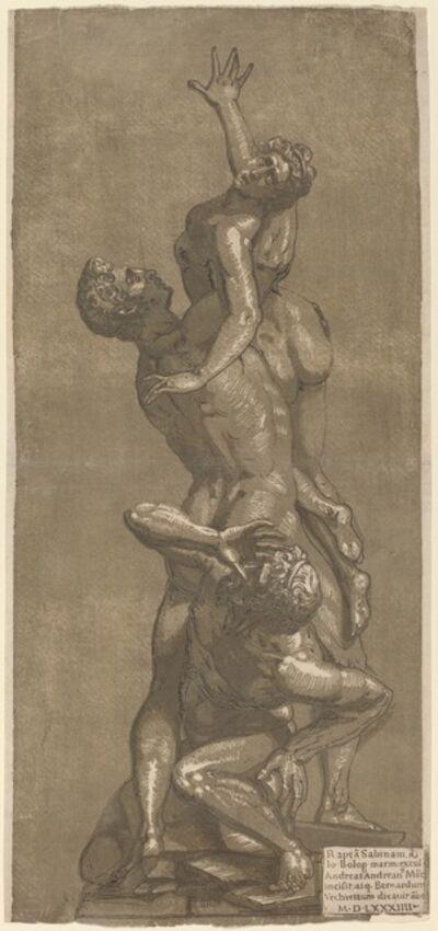 Andrea Andreani, 'The Rape of a Sabine', 1584