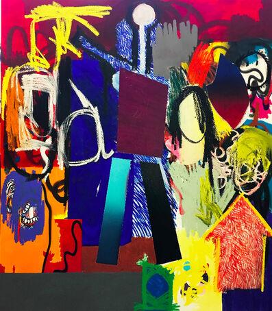 Jannis Varelas, 'Blue and Orange', 2017