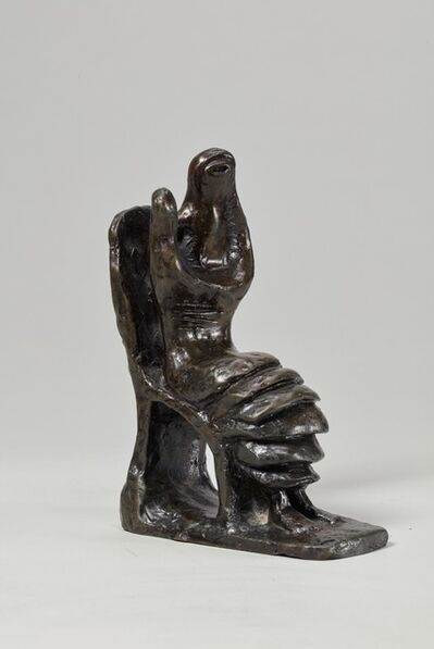 Henry Moore, 'Mother and Child: Petal Skirt', 1955