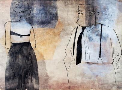 Ben Shahn, 'Suzanna and the Elders', 1948