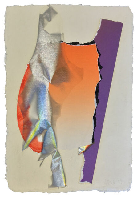 Larry Bell, 'SMVD 97 (Vapor Drawing, Small Mirage Series)', 1989
