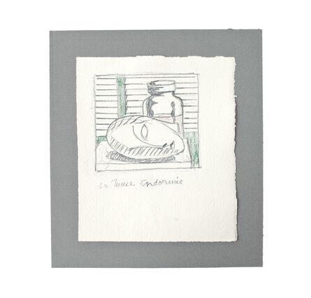 Roy Lichtenstein, 'La Muse Endormie', 1983