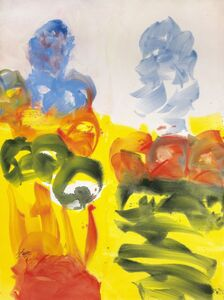 Josef Mikl, 'two figures', 2007