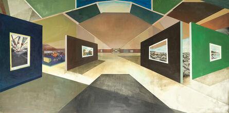 William Wegman, 'Gallery Openings', 2015