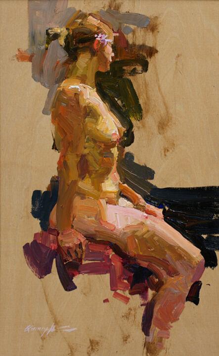 Quang Ho, 'Seated Figure', 2015