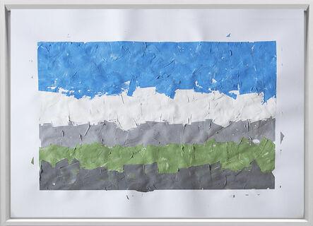 Rodrigo González Castellanos, 'Desgaste de la psicología del color, Pasividad', 2020