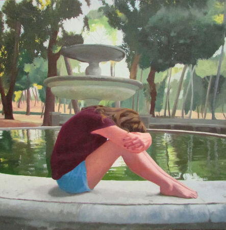 Gil Haller, 'By The Fountain', 2017