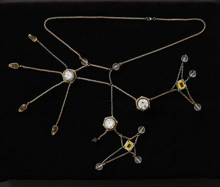 Mel Chin, 'Cluster: AK-47 (Liver wound/sulfobromophthalein collapsing necklace)', 2005-2006