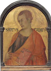 Workshop of Simone Martini, 'Saint Thaddeus', probably c. 1320