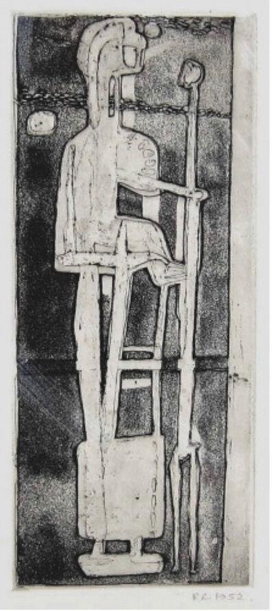 ROBERT CLATWORTHY, R.A., 'Standing Figure', 1952