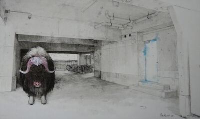 Rin Kuroki, 'HAZAMA-8 Muskox', 2018