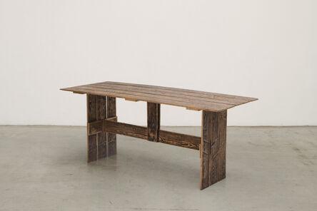 Francesco Faccin, 'Serial Planks collection Bench', 2016