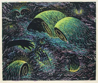 Louisa Chase, 'Untitled (Black Sea)', 1983