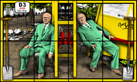 Gilbert and George, 'D3', 2020