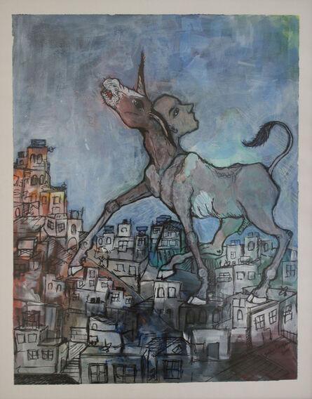 Bashir Qonqar, 'Standing', 2015