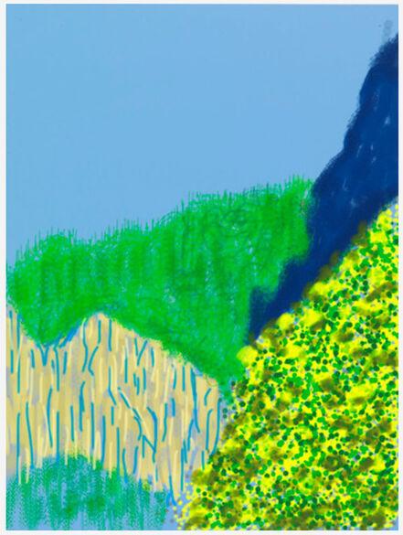David Hockney, 'The Yosemite Suite 3', 2011