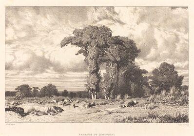 Jules Dupré, 'Pastures of Limousin (Pacages du Limousin)', 1835