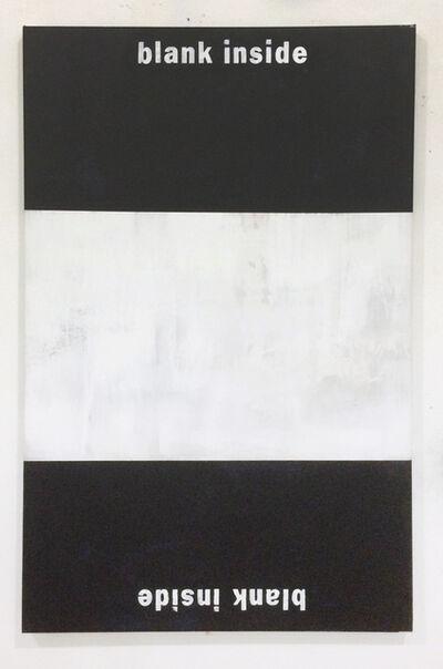 Dustin Pevey, 'Blank Inside ', 2014